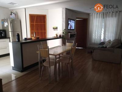 Casa Com 03 Dormitórios Um Suite Na Vila Carioba - Ca0472