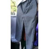 9e72ca67dc Pantalon Escolar O De Vestir Gris Oxford