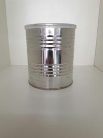 4 Lata Leite Alumínio 400g Vazia P/ Artesanato Lembrancinha