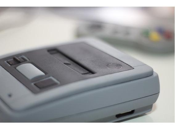 Case Mini Snes - Para Raspberry Pi 3 Modelo B