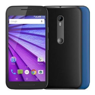 Motorola Moto G3 Xt1544 Tv, 13mp Preto 16gb, Leia O Anúncio