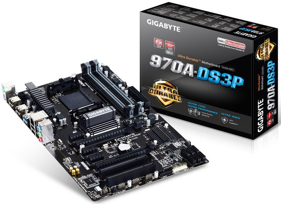 Placa Mãe Ga-970a-ds3p Gigabyte Ddr3 Amd Socket Lga Am3+ 970
