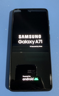 Celular Samsung Galaxy A71 Impecável - 2 Meses De Uso