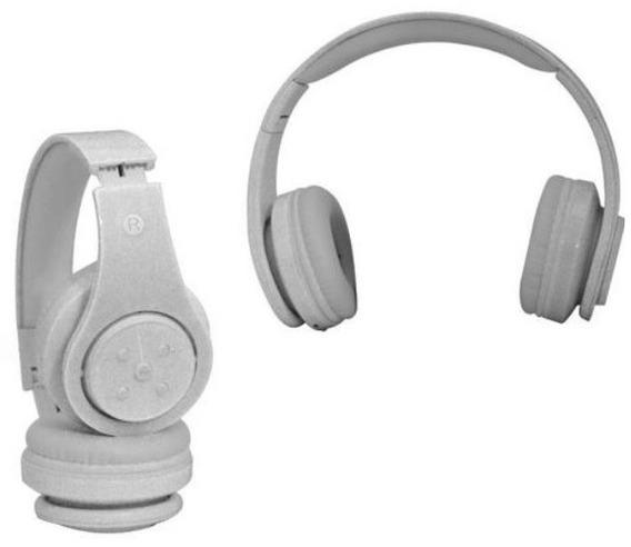 Fone De Ouvido Bluetooth Sd Mp3 Fm Knup - Branco