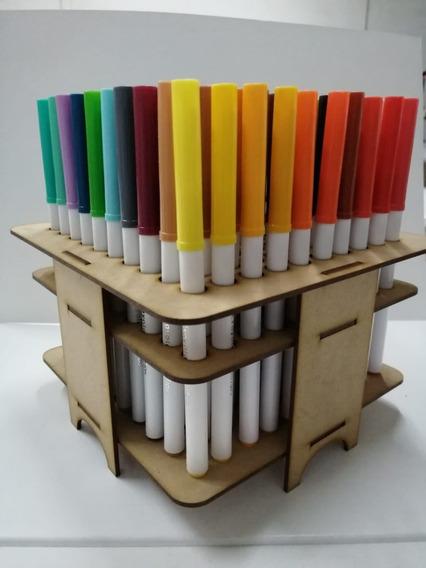 Organizador De Escritorio Para Crayola Supertips 100 Y 50