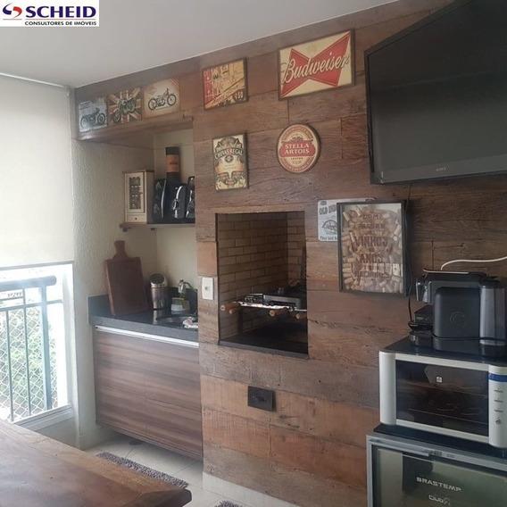 Summer Family Resort 113m2 Com 2 Vagas Lindo E Com Varanda Gourmet - Mr67591