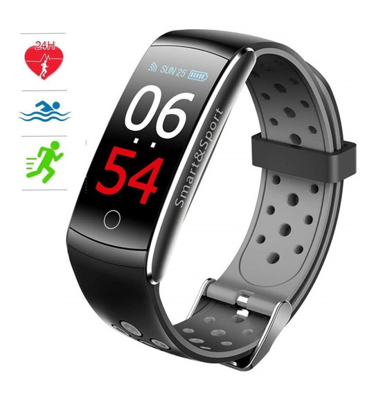 Reloj Inteligente C/oxiemtro Presión Arterial Frec. Cardiaca