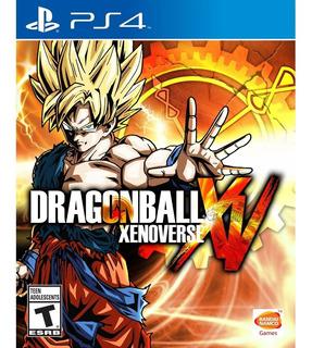 Dragon Ball Xenoverse Ps4 Mídia Física Lacrado