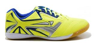 Tênis Onity Masculino Futsal F20 - Amarelo Limão
