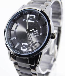 Reloj Q&q Q890j402y,sumergible,metal