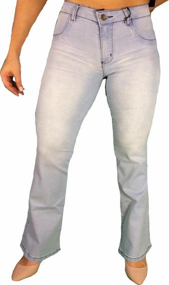 Calça Jeans Fleur Roupas Femininas Cós Alto Hot Pants