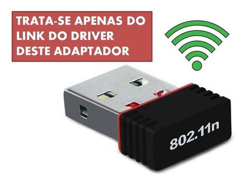 Driver Do Adaptador Wifi Usb 802 11n - Windows 7
