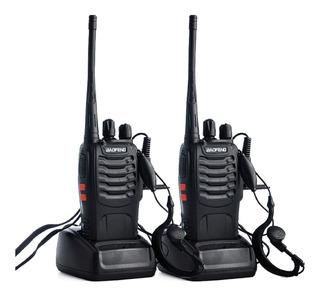 Radios Baofeng Handy 888 S X 2 + Accesorios / Impoluz