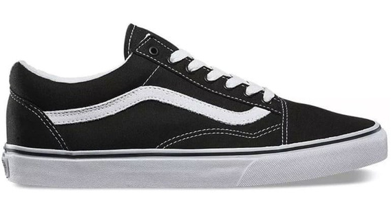 Tenis Vans Old Skool Canvas Original Unisex Vn000zdf1wx