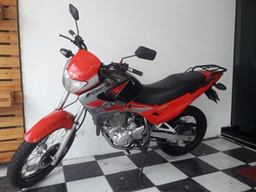 Honda Nx-4 Falcon 2005 Vermelha