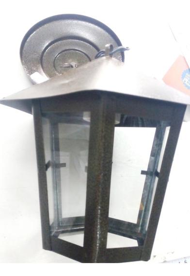 Kit C/ 5 Luminárias Colonial Pendente Teto Ouro Velho