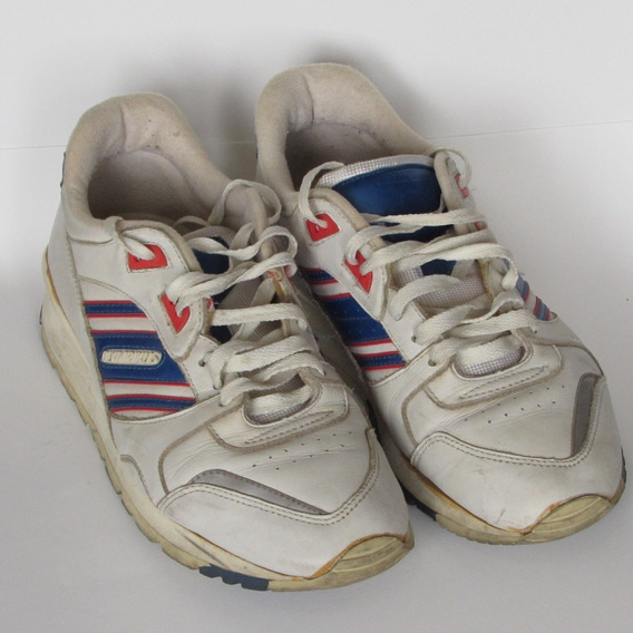 Tênis Olympikus Unissex Branco/azul 39 Usado Bom Estado