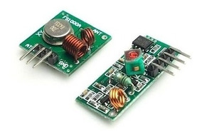 Kit Modulo Rf - Tx / Rx 433mhz