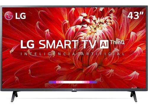 Imagem 1 de 3 de Smart Tv LG Led 43 Full Hd Wifi Webos Quad Core Ai Thinq
