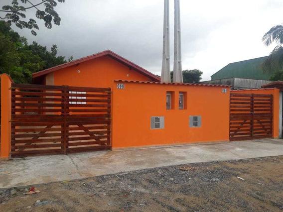 Casa Nova Valor R$ 124.900 Mil Avista Em Itanhaém