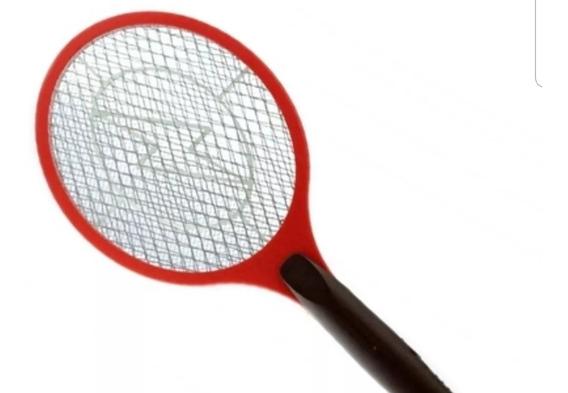 Raquete Elétrica Mata Mosquito Da Dengue E Pernelongo