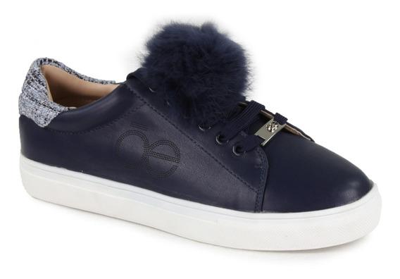 Sneaker Con Detalle De Fur Cloe Mujer