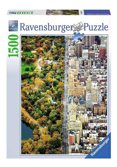 Rompecabezas X 1500 Pcs Divided Town Ravensburger