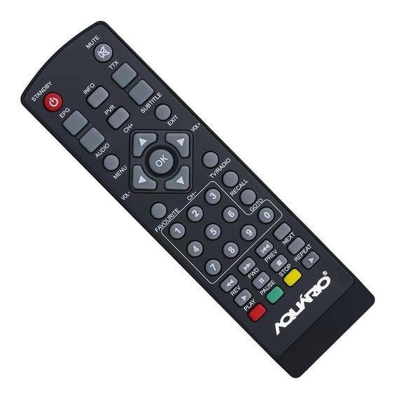 Controle Remoto Para Conversor Digital Aquário Dtv5000