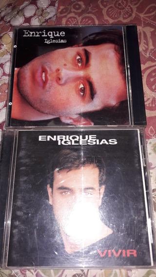 Lote Enrique Iglesias 1995 El Primero Y Vivir