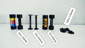 Kit Adaptadores De Filme 35mm E 120mm