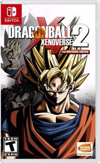 Dragon Ball Xenoverse 2 Nintendo Switch Cambio Otro Juego