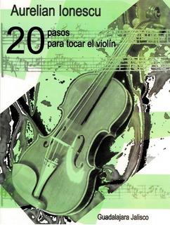 Método Para Violín En 20 Pasos , Con Disco