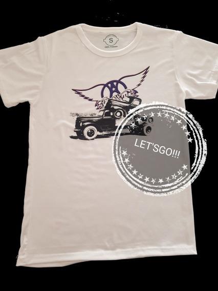 Aerosmith Pump Remera Manga Corta