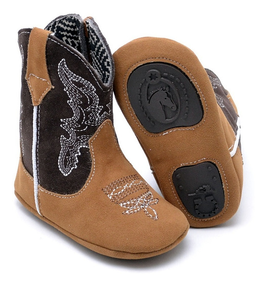 Botinha Infantil Texana Top Kids Country Emborrachado Baby
