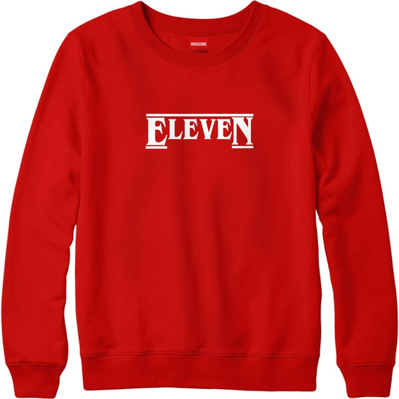 Sudadera Hombre Dama Stranger Things Once Eleven Sueter #637