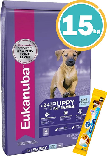 Imagen 1 de 7 de Ración Perro - Eukanuba Cachorros + Obsequio Y Envío Gratis