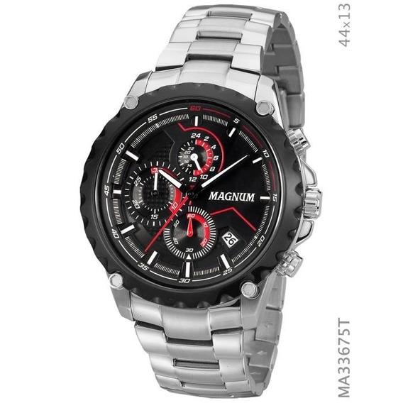 Relógio Magnum Ma33675t Calendario Cronografo - Loja Oficial