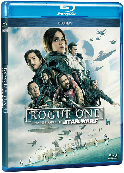 Rogue One: Una Historia De Star Wars + Blu-ray