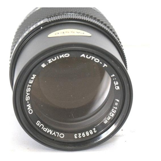 Lente Olympus 135mm 3.5 Japan Retro Coleção Retirada De Peça