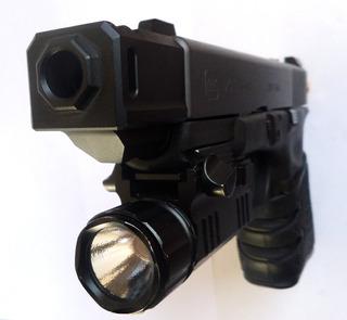 Freno De Boca Muzzle Brake Compensador Para Glock