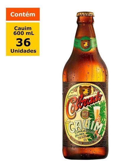 Cerveja Colorado Cauim 600ml - Caixa Com 36 Unidades