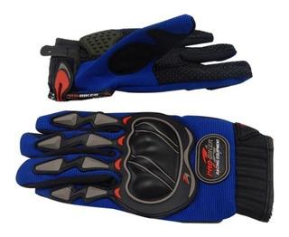 Guantes Pro-biker Con Protector Talla Xxl Azul