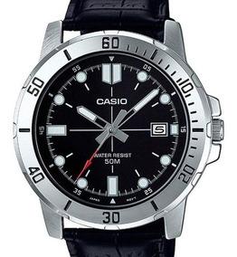 Relógio Casio Masculino Collection Couro Mtp-vd01l-1evudf-br