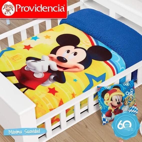 Juego De 2 Cobertores Cunero Providencia Para Niño