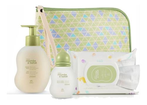Imagem 1 de 8 de Mamãe E Bebê  Kit Completo Com Frasqueira