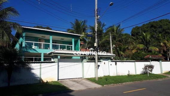 Casa Espetacular Com Vista E Sala De Cinema!!! Maricá - Ca2922