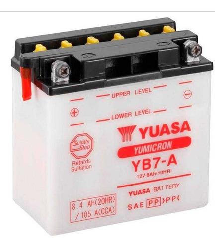Batería De Moto Yuasa Yb7-a, Delivery.