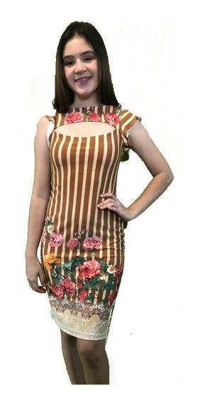 Vestido Gola Suplex 5 Peças
