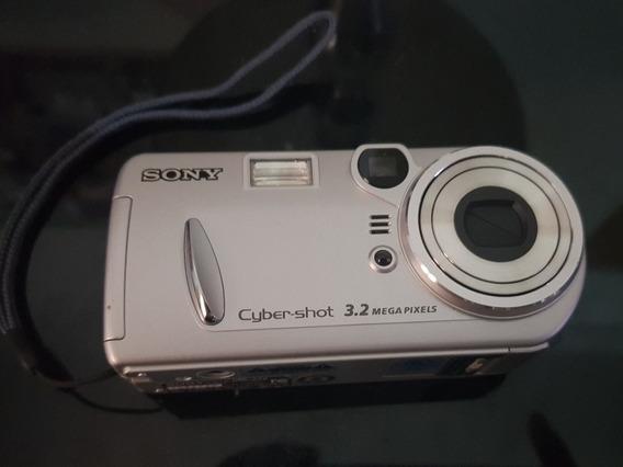 Câmera Digital Sony Cyber Shot Nikon Canon Powershot 3.2