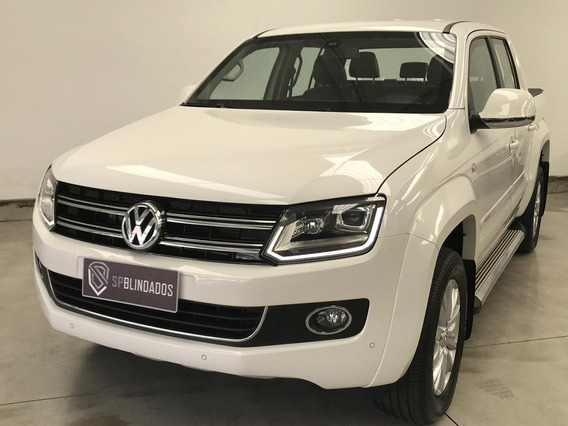 Amarok Highline Diesel 4x4 2016 Blindada Defense Niiia